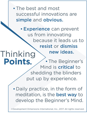 Thinking Points: How Can Mindfulness Unlock Innovation?